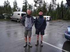 il pleut parfois dans le Wyoming