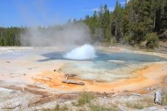 Un geyser