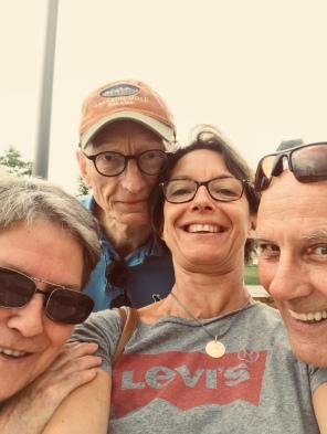 Selfie franco canadien