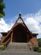 Le monastère russe de la Sainte Transfiguration