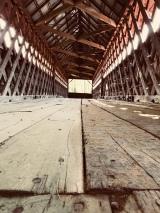 Le pont couvert de la Frontière