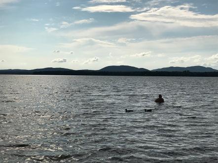 le pêcheur du lac !